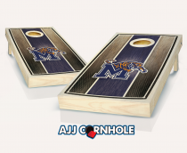 Memphis Stained Stripe Cornhole Set
