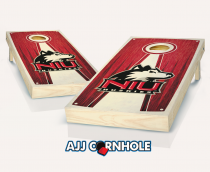 Northern Illinois Stained Pyramid Cornhole Set