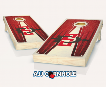San Diego State Stained Pyramid Cornhole Set