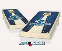 Seton Hall Stained Pyramix Cornhole Set