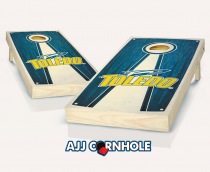 Toledo Stained Pyramid Cornhole Set