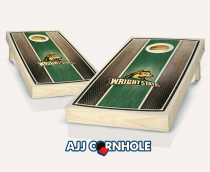 Wright State Stained Striped Cornhole Set
