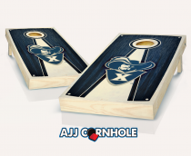 Xavier Stained Pyramid Cornhole Set