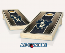 Xavier Stained Striped Cornhole Set