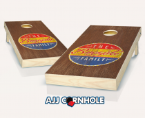 """Retro Southern Family"" Cornhole Set"