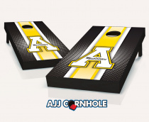 App State Mountaineers Striped Cornhole Set