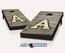 Army Black Knights Distressed Cornhole Set