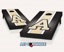Army Black Knights Striped Cornhole Set