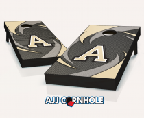 Army Black Knights Swoosh Cornhole Set