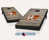 """Bowling Green Falcons"" Distressed Cornhole Set"