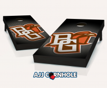 """Bowling Green Falcons"" Slanted Cornhole Set"