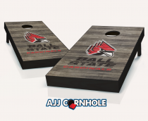 Ball State Cardinals Distressed Cornhole Set