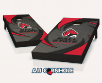 Ball State Cardinals Swoosh Cornhole Set