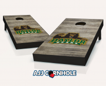 """Baylor Bears"" Distressed Cornhole Set"
