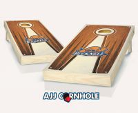 Bucknell Stained Pyramid Cornhole Set