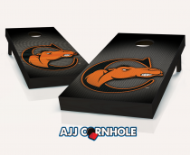"""Campbell Fighting Camels"" Slanted Cornhole Set"