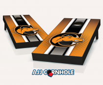 """Campbell Fighting Camels"" Striped Cornhole Set"