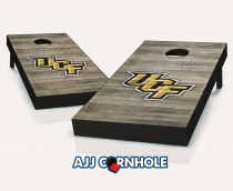 Central Florida Knights Distressed Cornhole Set