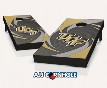 Central Florida Knights Swoosh Cornhole Set