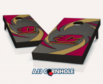 """Central Michigan Flying C's"" Swoosh Cornhole Set"