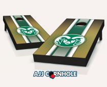 """Colorado State Rams"" Striped Cornhole Set"