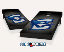 """Creighton Bluejays"" Slanted Cornhole Set"