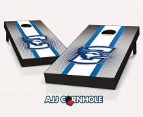 """Creighton Bluejays"" Striped Cornhole Set"