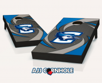 """Creighton Bluejays"" Swoosh Cornhole Set"