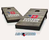 """Dayton Flyers"" Distressed Cornhole Set"