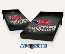 """Dayton Flyers"" Slanted Cornhole Set"