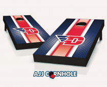 """Dayton Flyers"" Striped Cornhole Set"