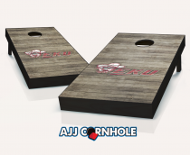 Eastern Kentucky Colonels Distressed Cornhole Set