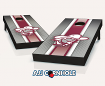 Eastern Kentucky Colonels Striped Cornhole Set