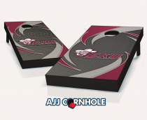 Eastern Kentucky Colonels Swoosh Cornhole Set