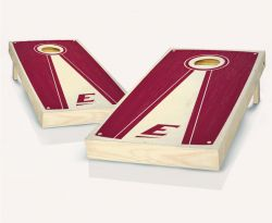 Eastern Kentucky Colonels Stained Pyramid Cornhole Set