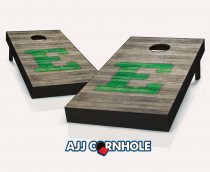 Eastern Michigan Eagles Distressed Cornhole Set