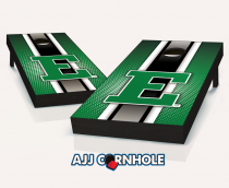 Eastern Michigan Eagles Striped Cornhole Set