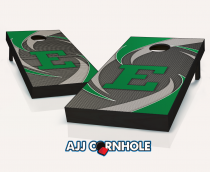 Eastern Michigan Eagles Swoosh Cornhole Set