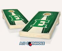 Eastern Michigan Stained Pyramid Cornhole Set