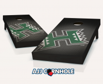 Hawaii Warriors Slanted Cornhole Set