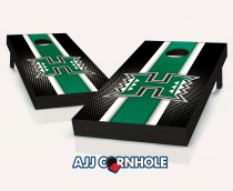 Hawaii Warriors Striped Cornhole Set