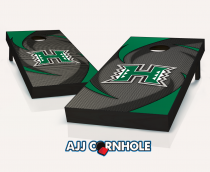 Hawaii Warriors Swoosh Cornhole Set