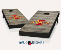 Iowa State Cyclones Distressed Cornhole Set