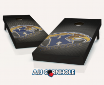 Kent State Golden Flashes Slanted Cornhole Set