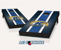 Kent State Golden Flashes Striped Cornhole Set