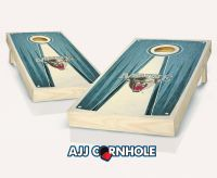 Maine Stained Pyramid Cornhole Set