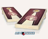 Mississippi State Stained Pyramid Cornhole Set