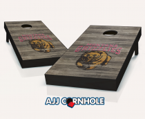Montana Grizzlies Distressed Cornhole Set