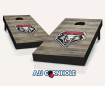 New Mexico Lobos Distressed Cornhole Set