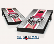 New Mexico Lobos Striped Cornhole Set